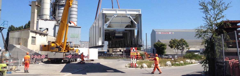 Neubau Zusatzstofflager, Holcim Carouge, Genf