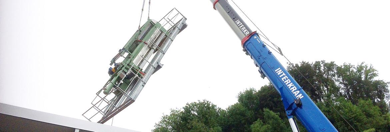 Neubau Schlammpresse VZ Wangen